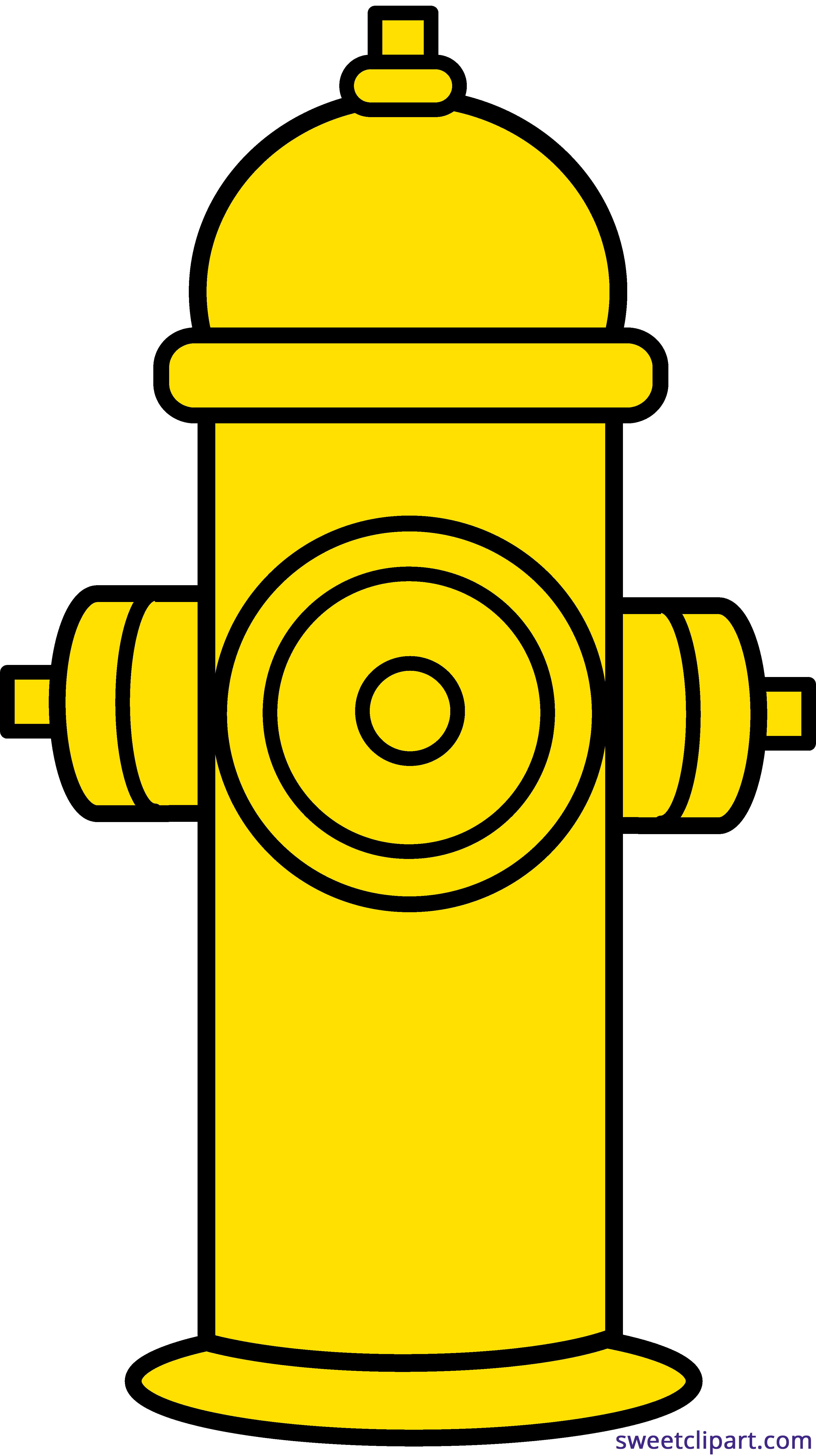 House clipart fire. Hydrant yellow sweet clip