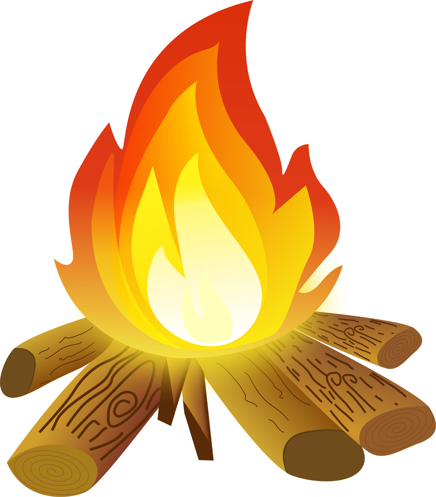 fireplace clipart vector