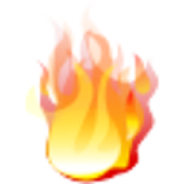 torch clipart realistic