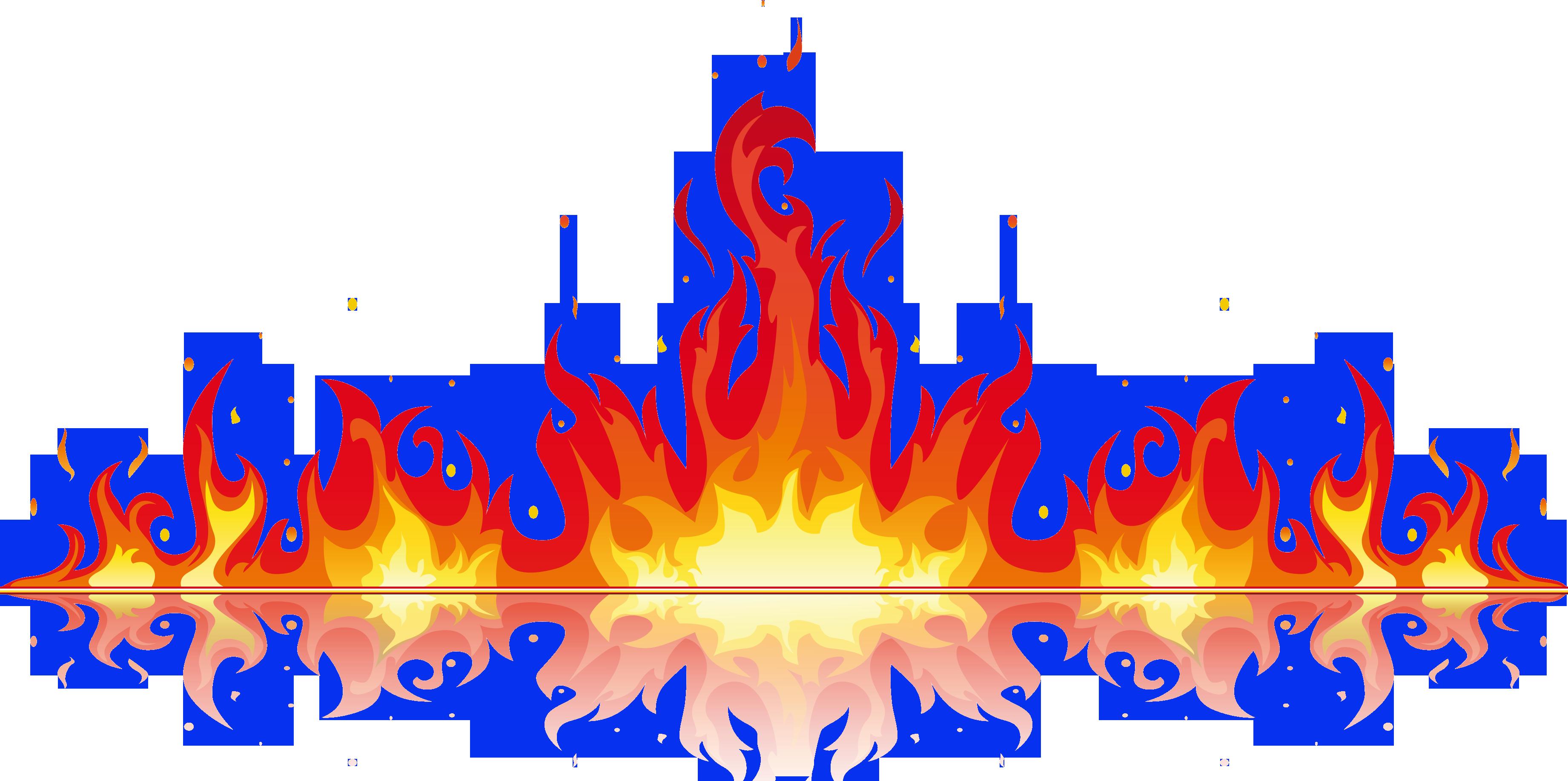 Fire clipart frame. Flame clip art transprent
