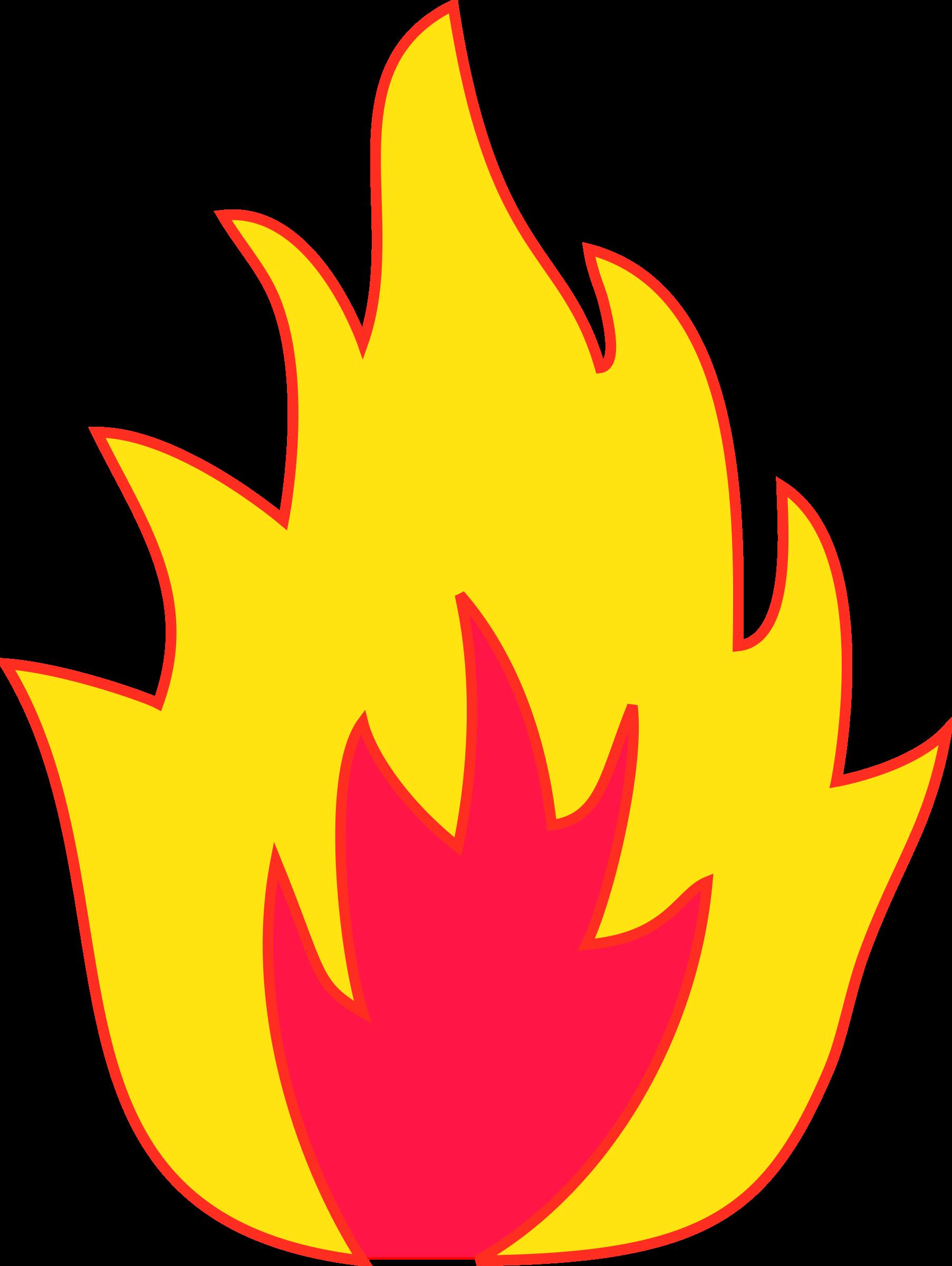 fire clipart pdf