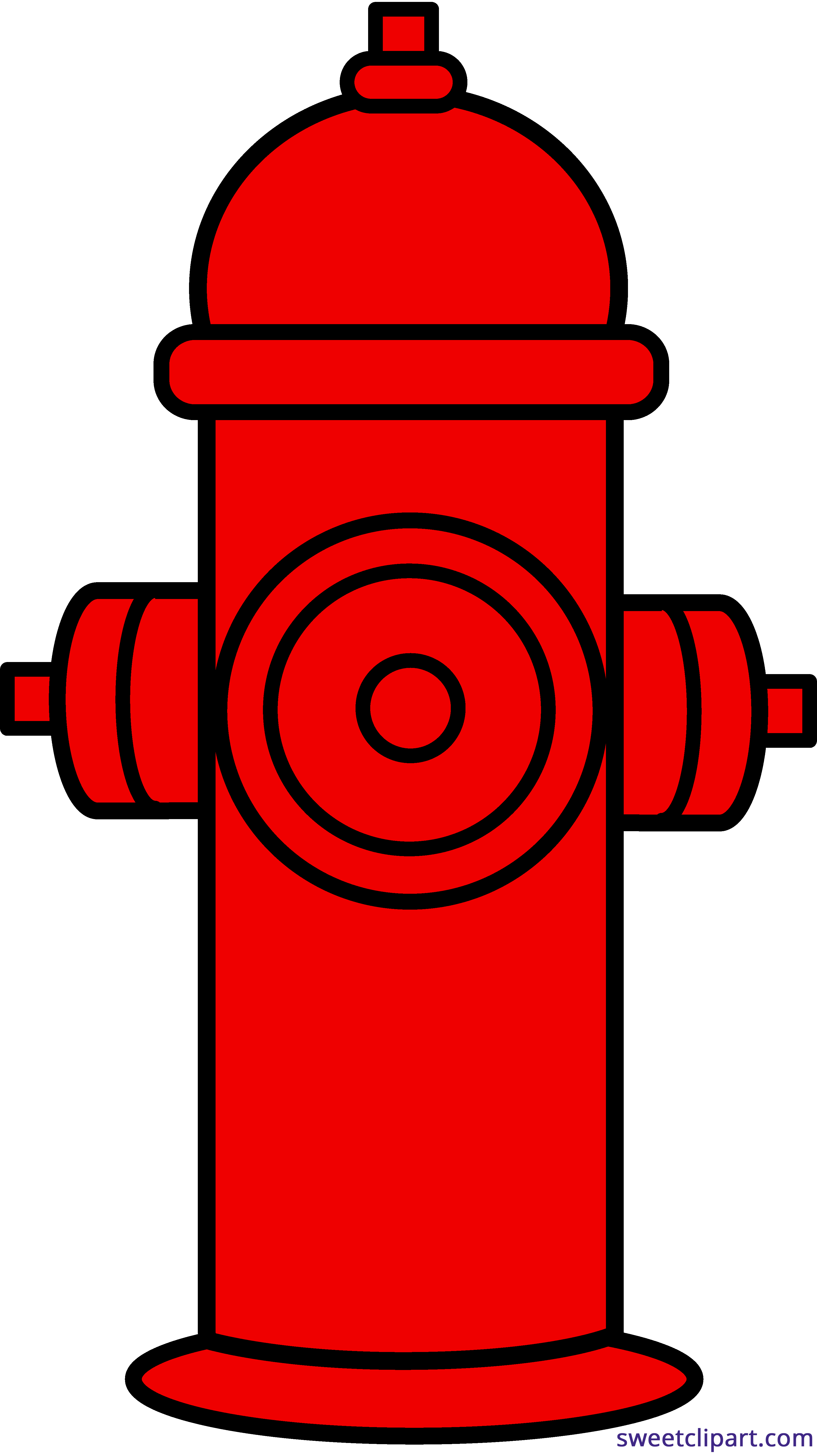 Water clipart red. Fire hydrant sweet clip