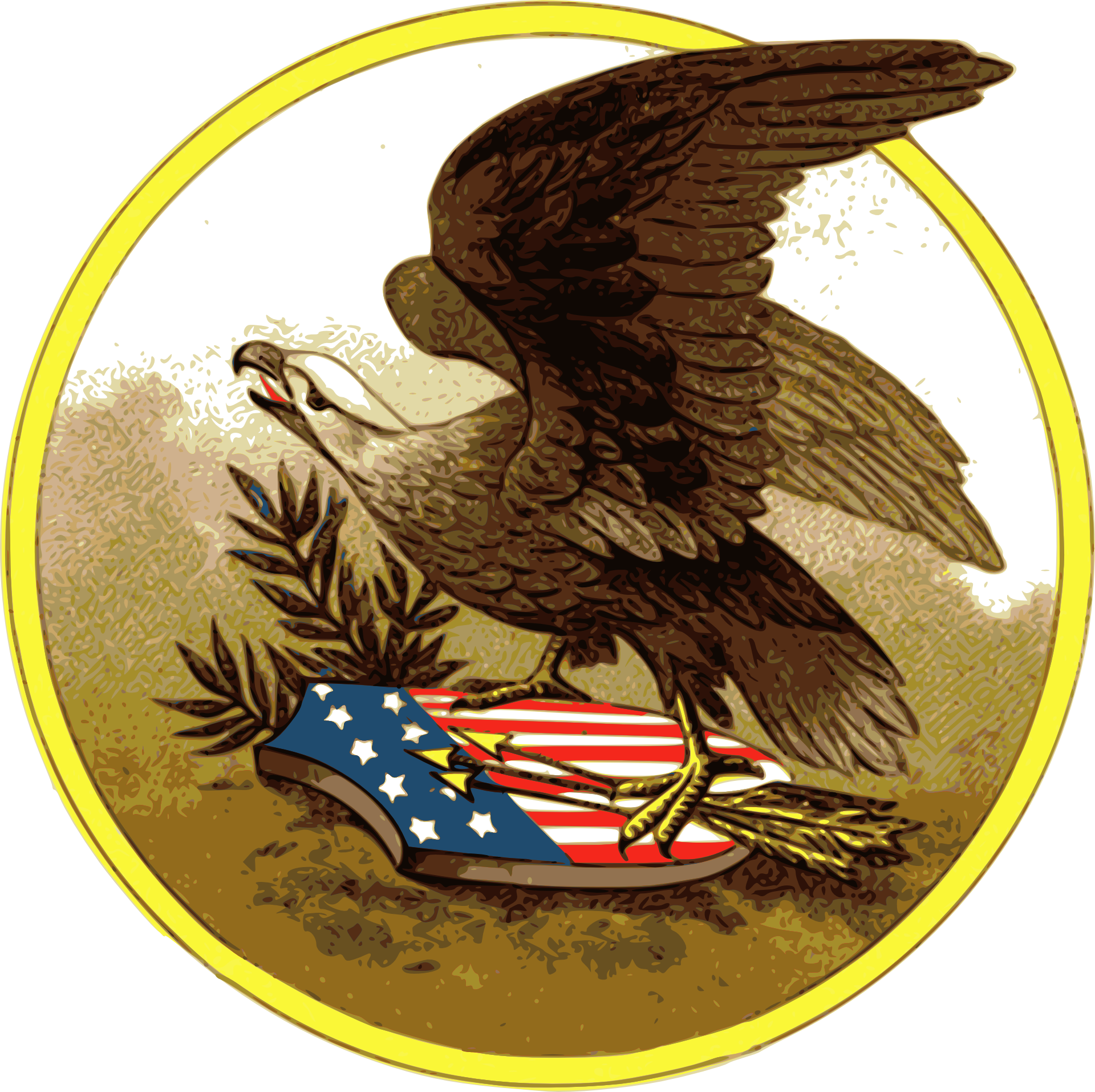 U s a independence. July clipart eagle