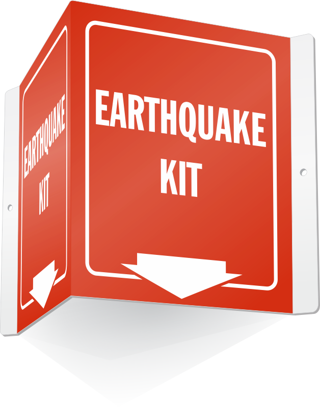 Shelter signs zoom price. Earthquake clipart hurricane safety