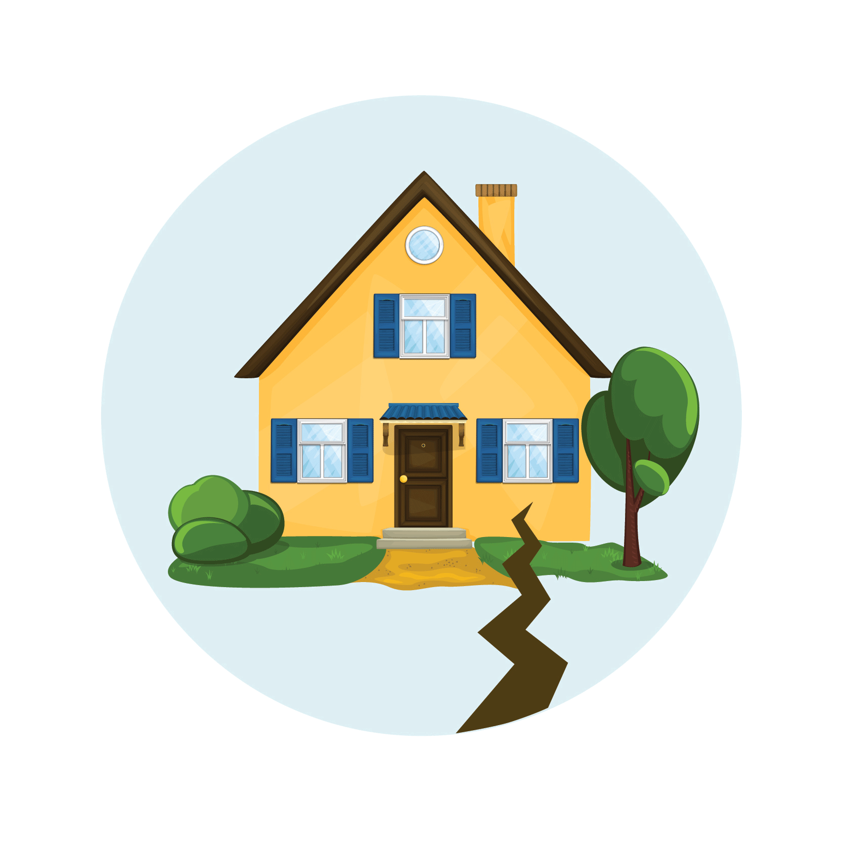 House clipart theft. Rush insurance services earthquake