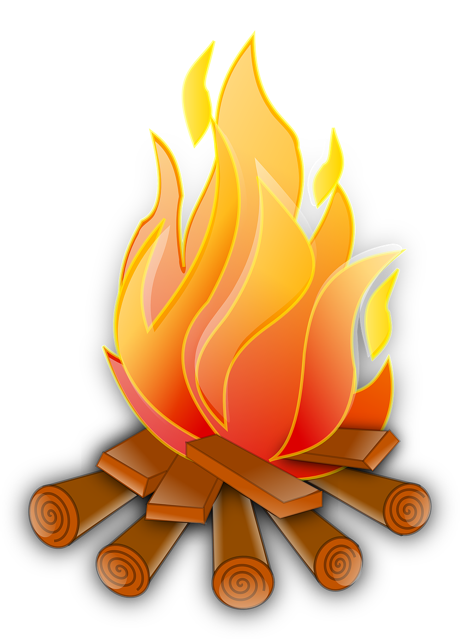 Fire clipart exothermic reaction. Chemistry and endothermic reactions