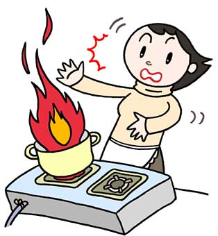 Social issues illustration th. Clipart fire fire accident