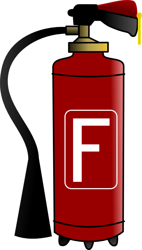 Clipart fire fire accident. Extinguisher cartoon panda free