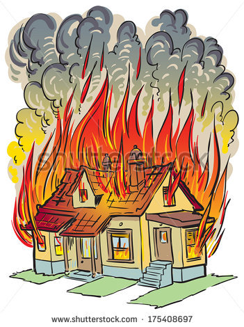 Clipart fire fire accident.