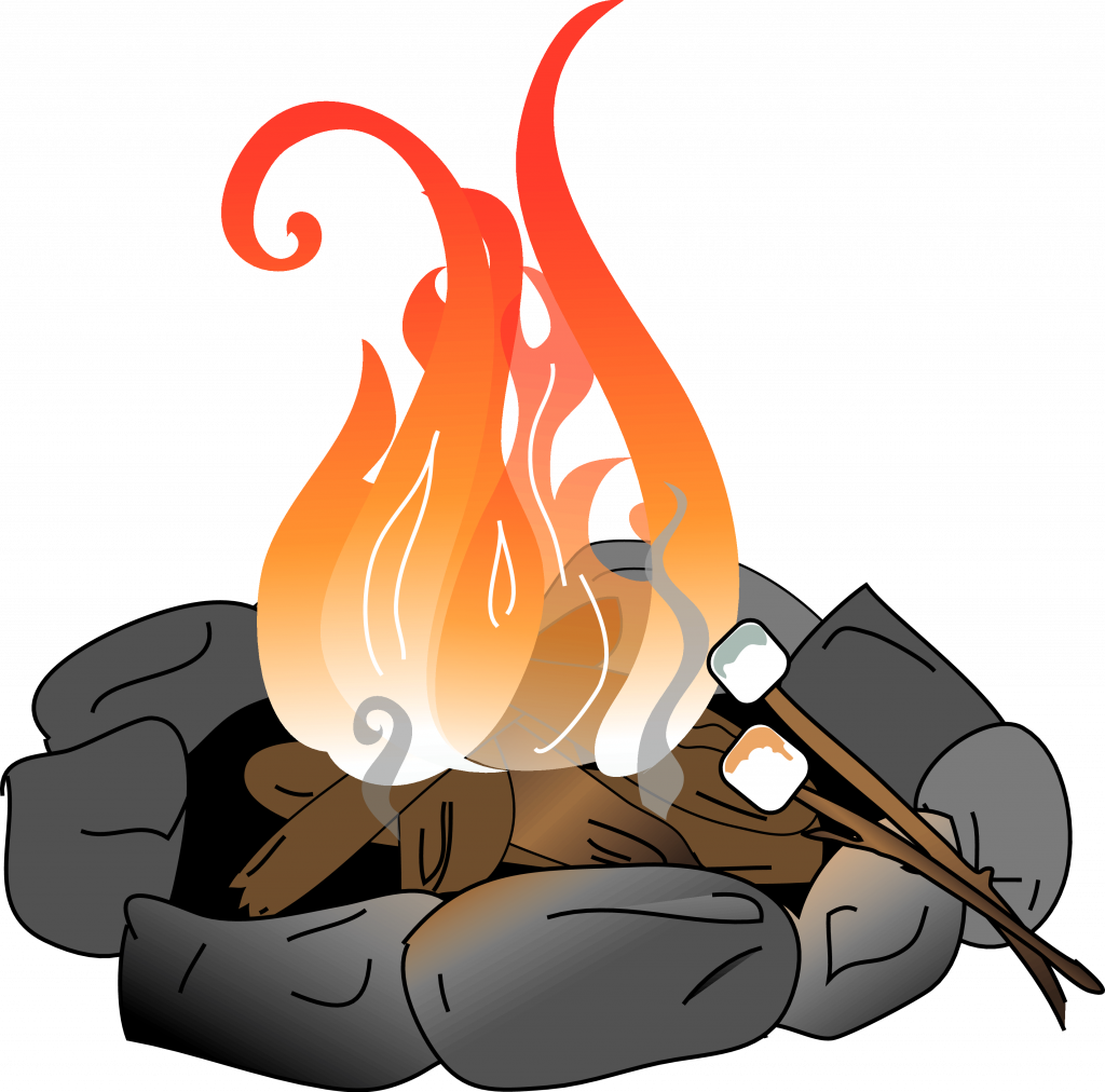 Hd heat library . Clipart fire fire pit