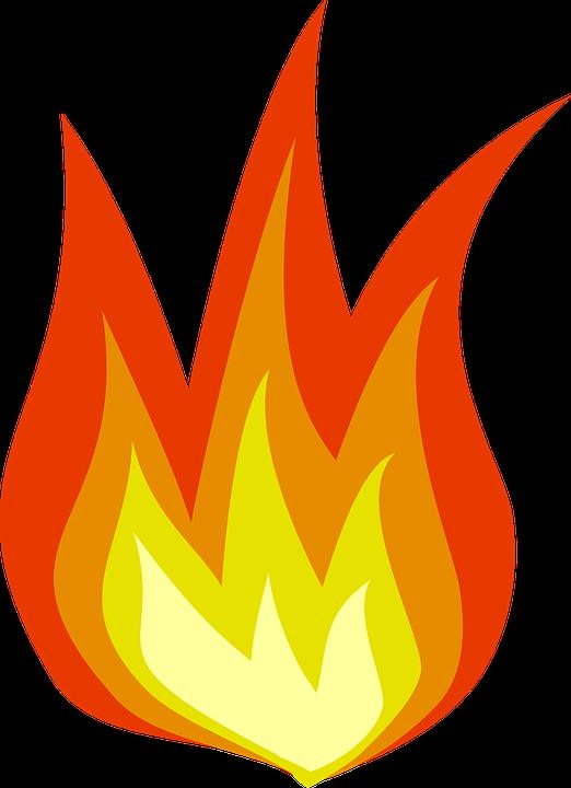 Flames hot rod