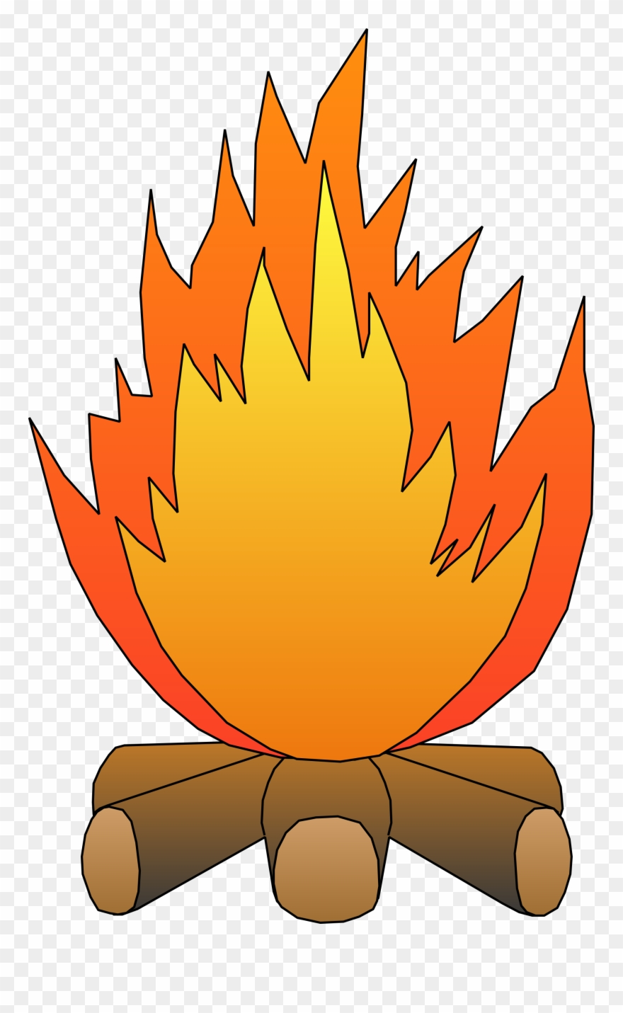 Fire clipart fire pit. Of and wilderness png