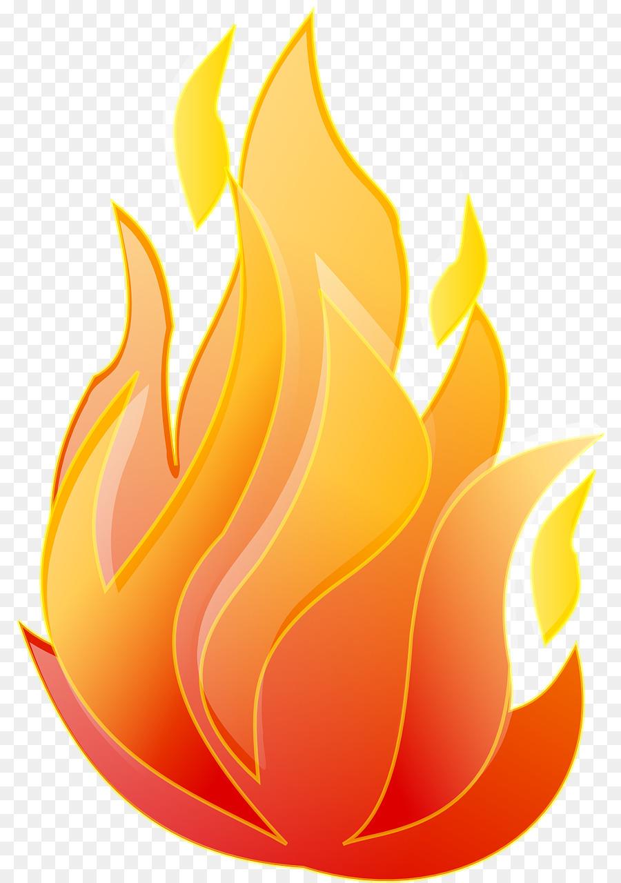 Clipart fire flame. Campfire cartoon yellow transparent