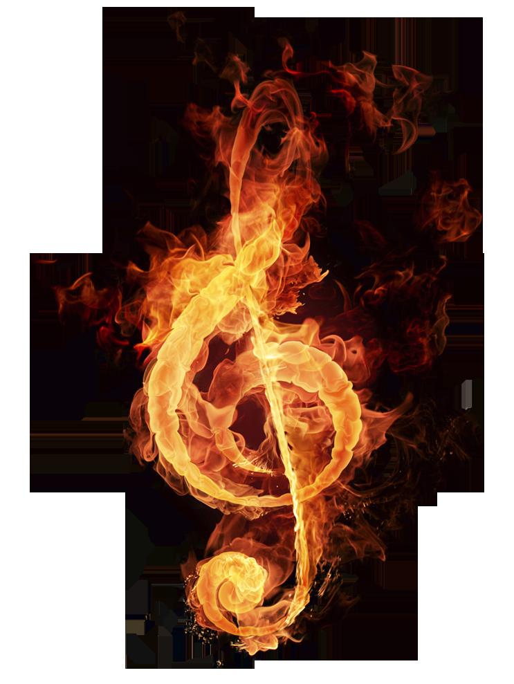 Transparent treble clef png. Clipart fire font