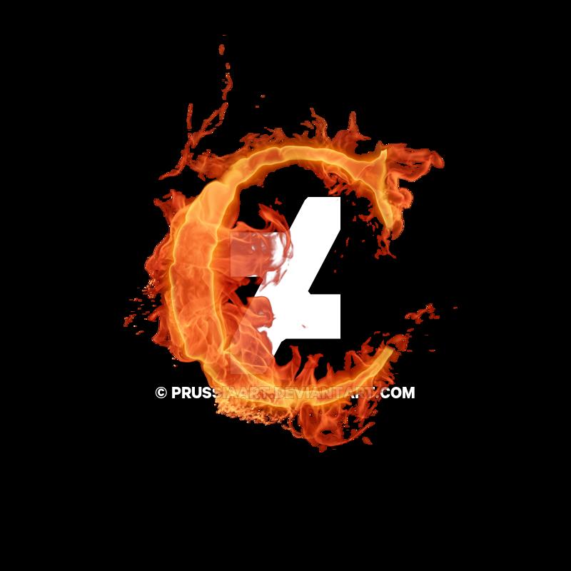 Letter alphabet flame transprent. Clipart fire font