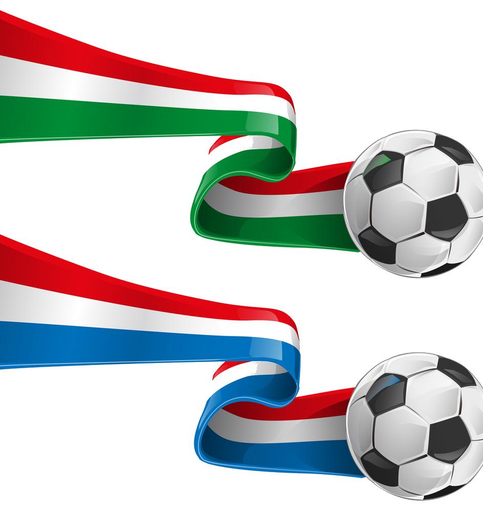 Clipart football flag. Italy france clip art