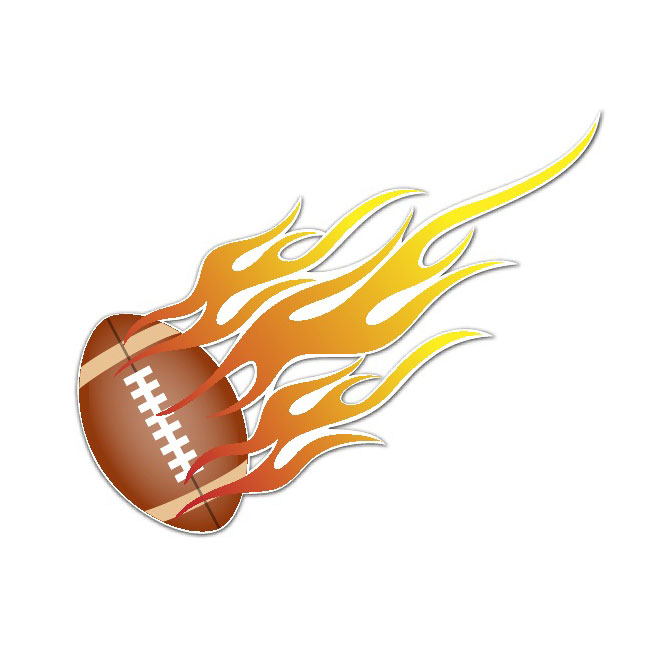 Clipart football fire. Free flame cliparts download