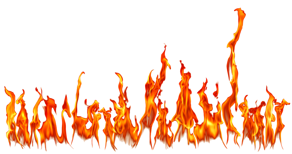 Twenty three isolated stock. Frame clipart fire