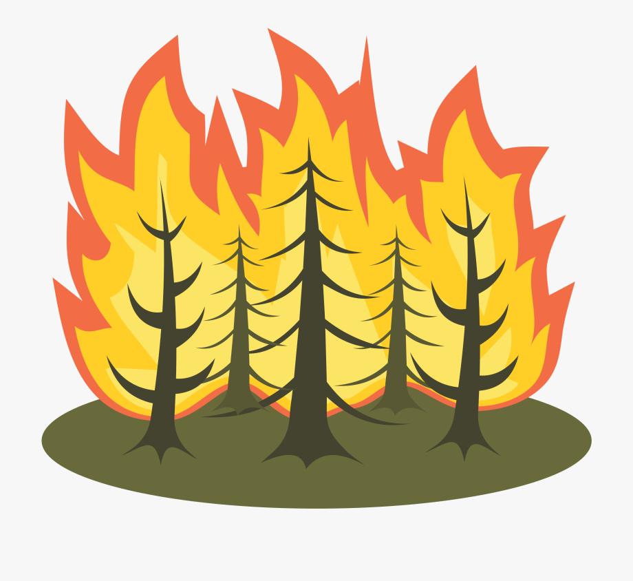 Clip art wild fires. Fire clipart forest fire