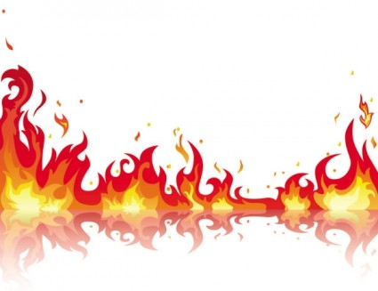 Free cliparts download clip. Flames clipart frame