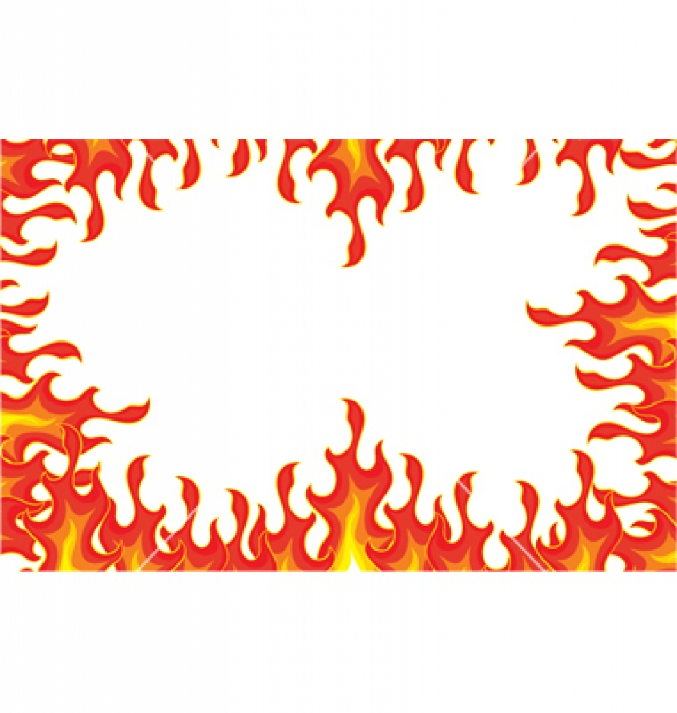Free flames cliparts download. Flame clipart frame