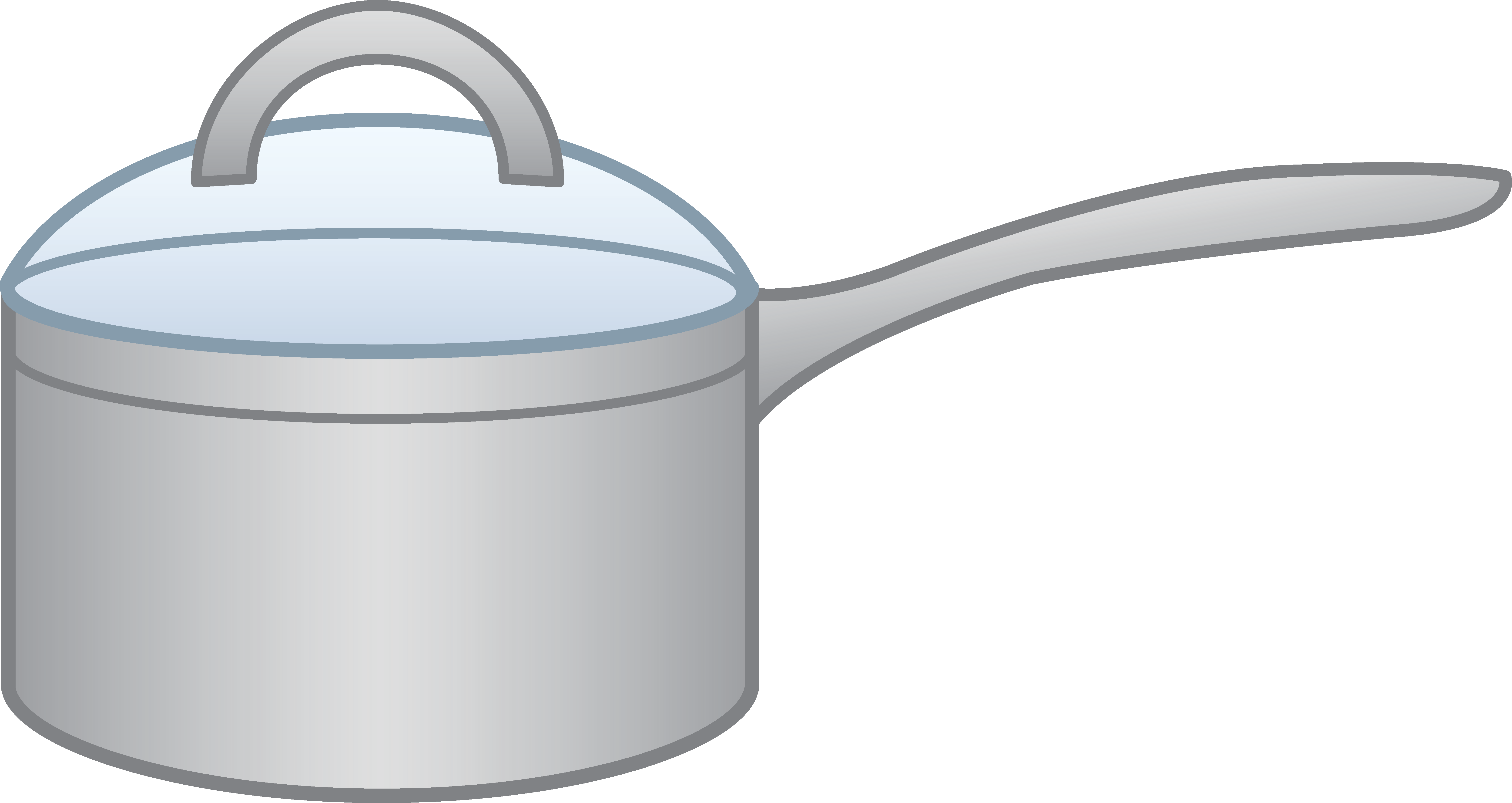 Picture clipart kitchen. Cooking pot drawing at