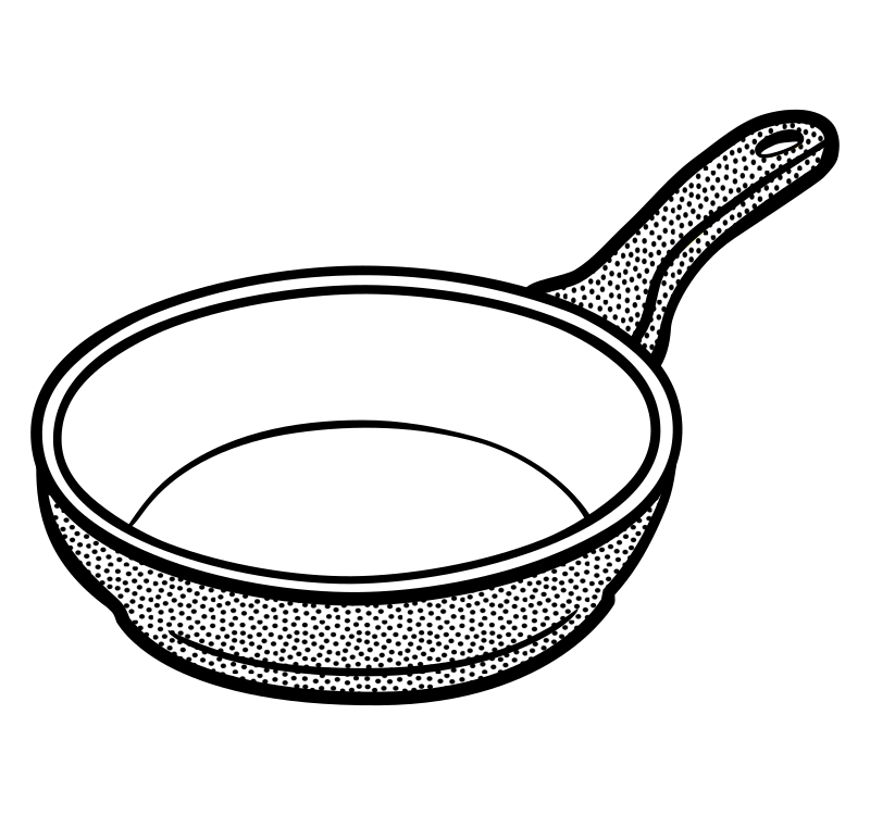 Fire clipart frying pan. Drawing at getdrawings com