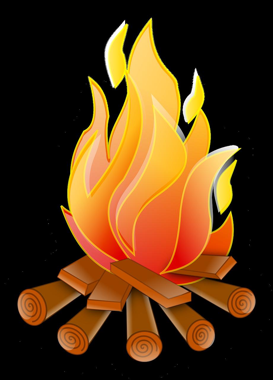 Imagem gratis no pixabay. Firewood clipart fogata