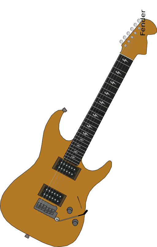 Clipart fire guitar. I royalty free public