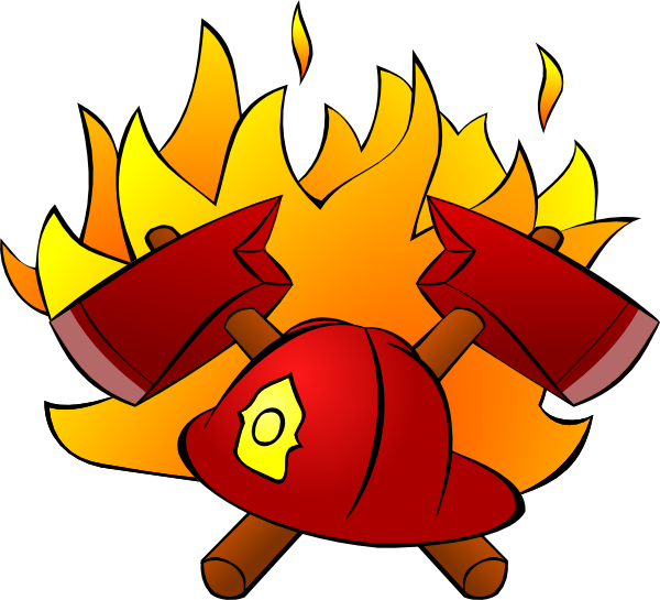 Hats clipart fire. Firefighter clip art at
