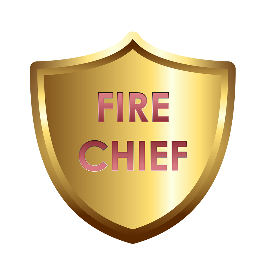 Clipart shield fire department. Hat chief