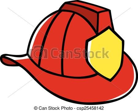 Hats clipart fire. Helmet stock illustrations clip