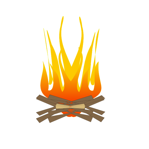 Fireplace clipart vector.  collection of fire