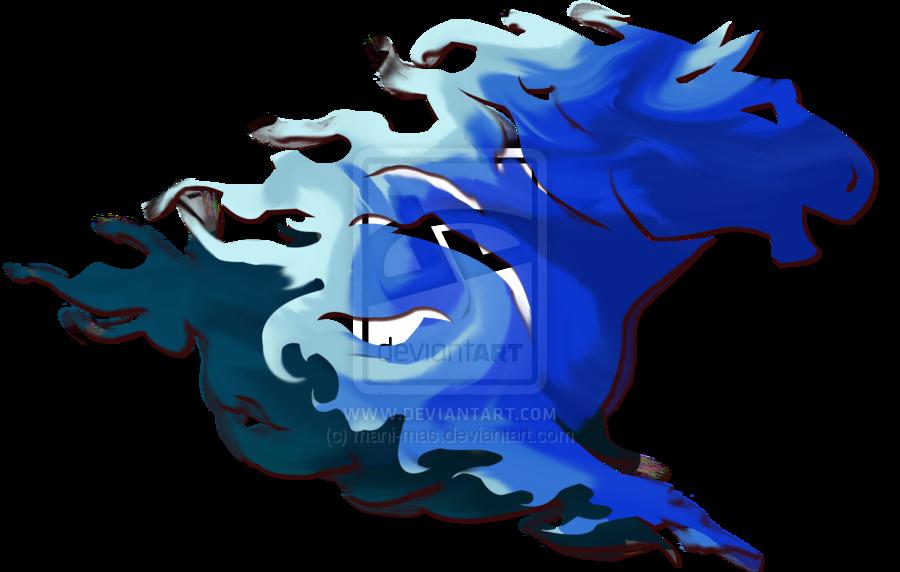 Horse clipart fire. Blue transparent png pictures
