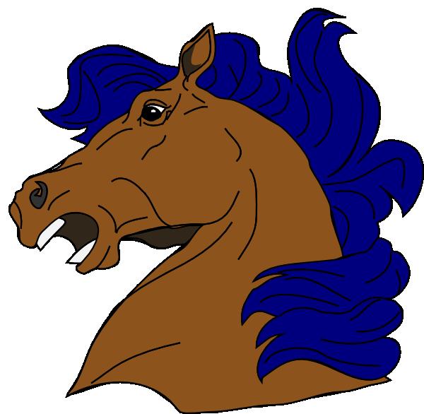 Mustang clip art at. Clipart fire horse