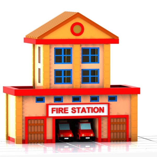 Fire clipart building.  collection of station