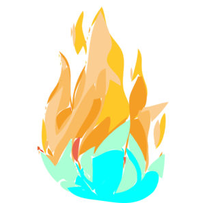 Fire clipart ice. Download and panda free