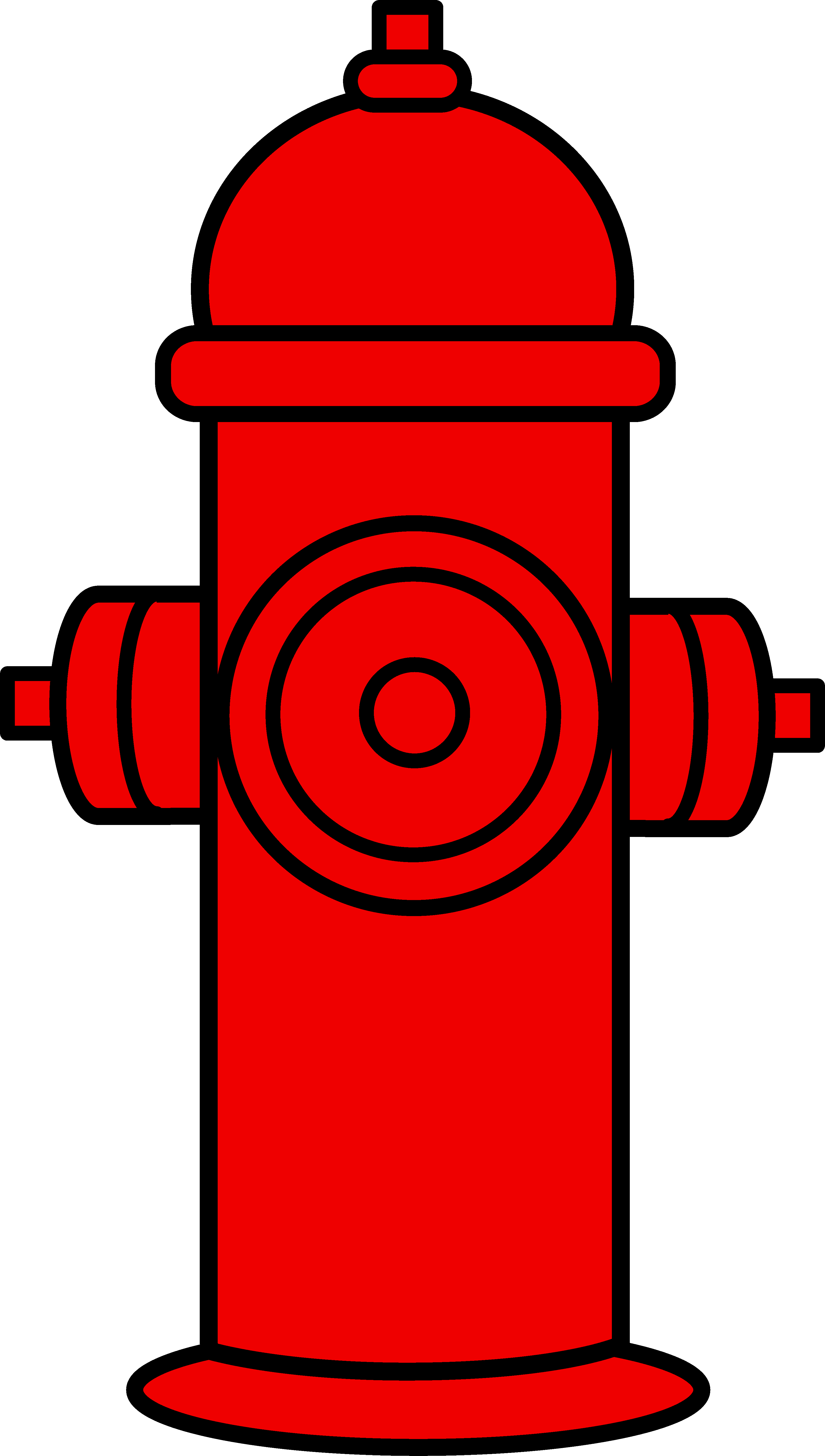 Clipart fire illustration. Red hydrant free clip