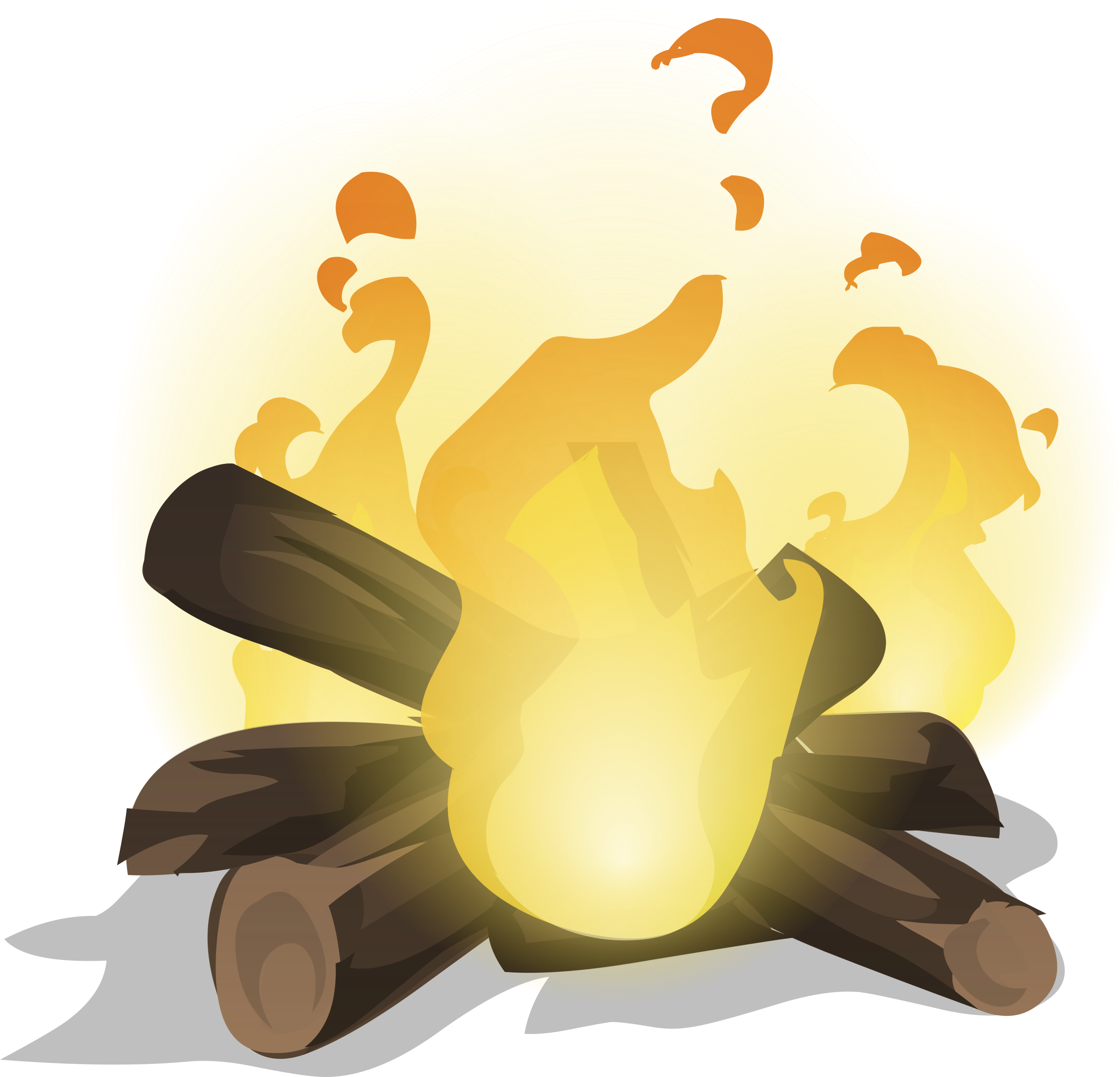 From glitch big image. Clipart fire illustration