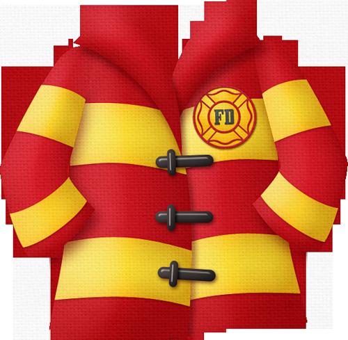 Fired up fire department. Firefighter clipart jacket