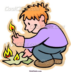 Clipart fire kid. Child playing with portal