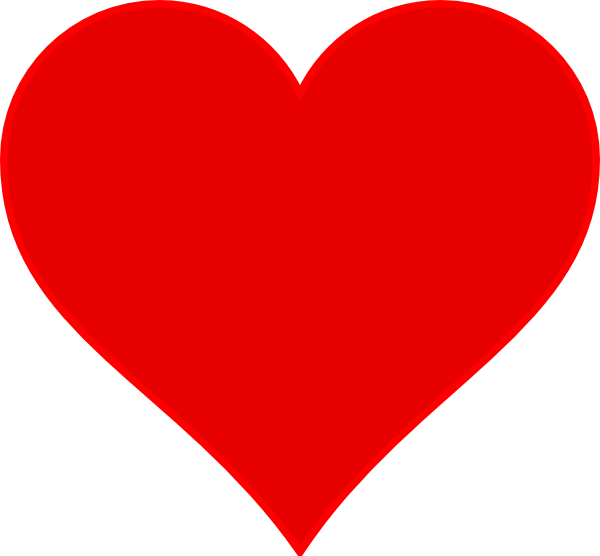 Clipart heart fire. Red clip art at