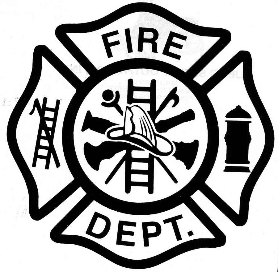 Firefighter clipart logo. Free fire department download