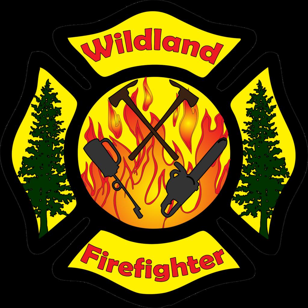 Wildland firefighter maltese cross. Fireman clipart fire marshal