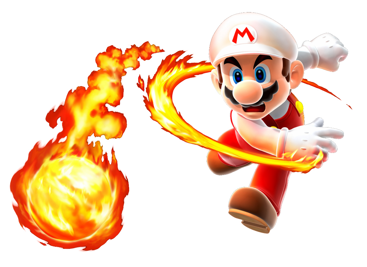 Mario flower ario pinterest. Fireball clipart dragon fire