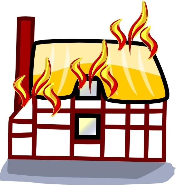 House insurance clip art. Houses clipart fire