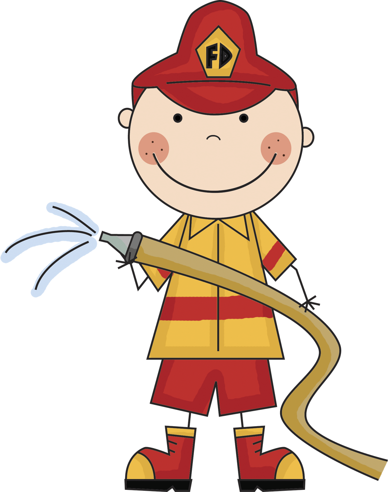 Safety at getdrawings com. Clipart fire person