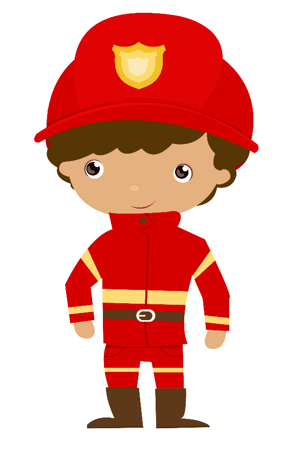 Clipart fire person. Bombeiros e pol cia