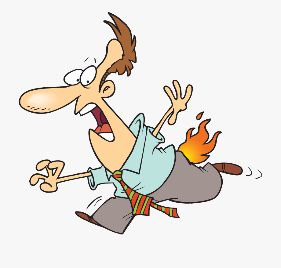 Fire clipart person. Pants on free