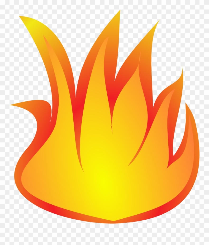 Flames png download . Fire clipart printable